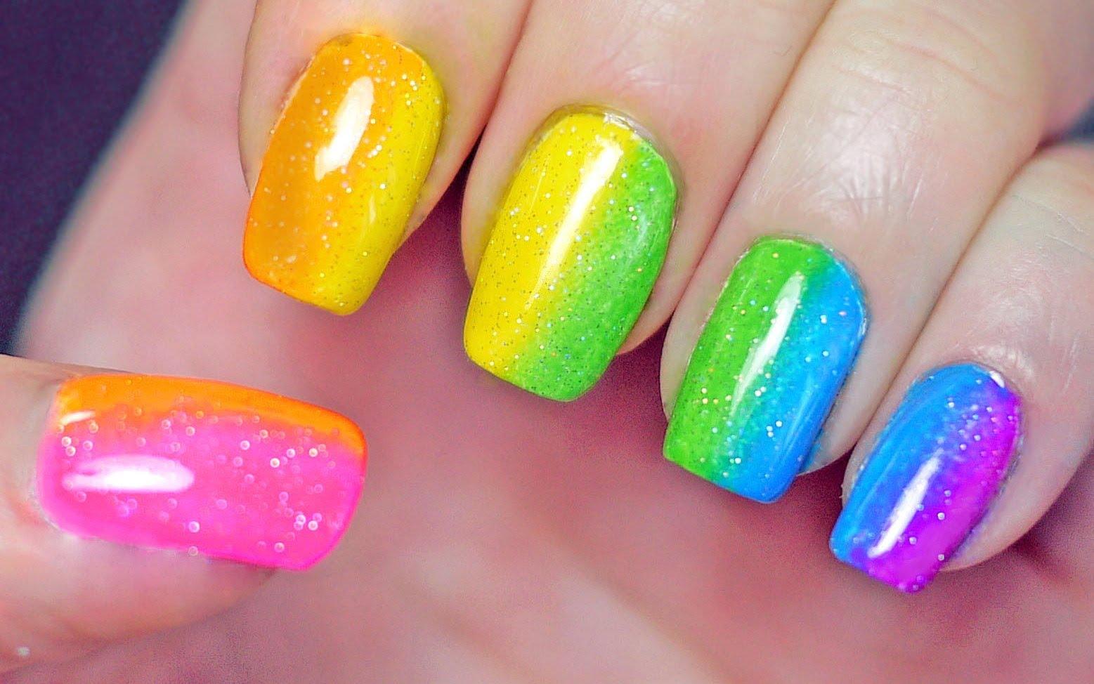 summer nails london