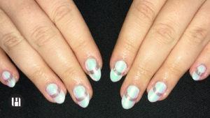 gel nails acrylics london