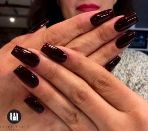 gel nails finish