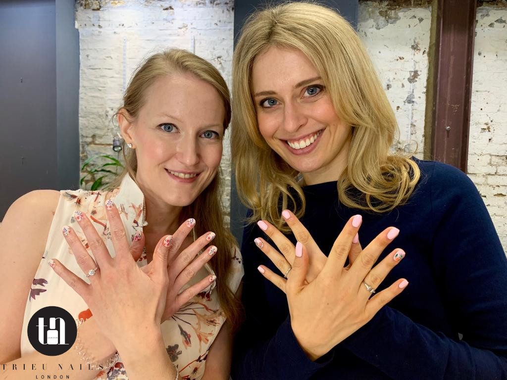 bridesmaids trieu nails bethnal green