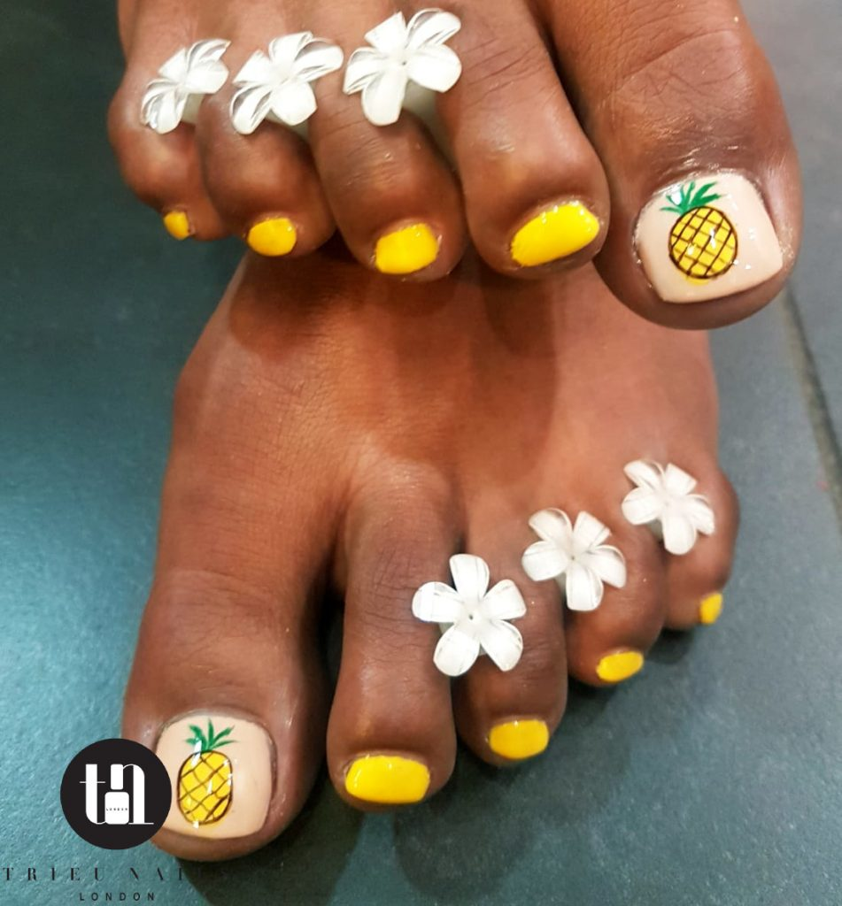 Nail Art Fruit Trieu Nails