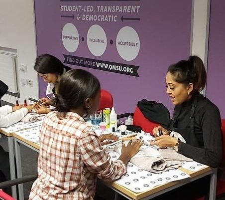 pop up manicure in london
