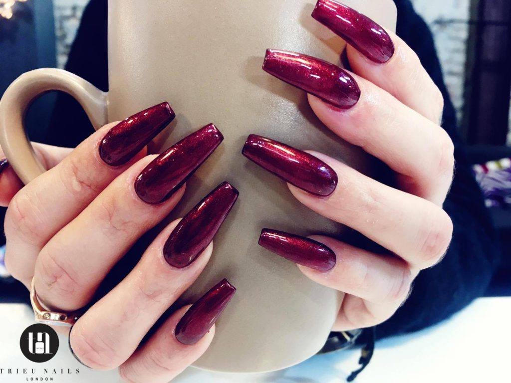 Let's talk about long nails or Acrylic Extensions. #longnails #acrylicextensions #bestnailsaloninlondon